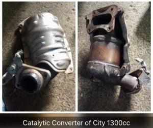Catalytic Converter Honda City