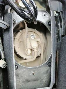 Honda Vezel fuel filter stra