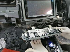 Honda Vezel fuel filter strainer repl