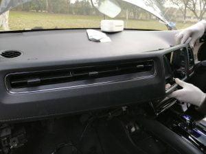 Honda Vezel fuel filter strainer replace