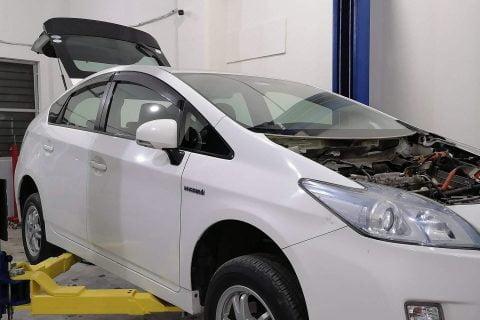 P0A80 Hybrid Battery Inspection