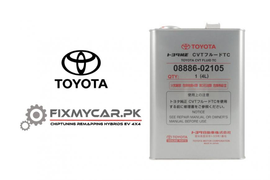 Toyota CVT TC vs CVT FE 08886-02105
