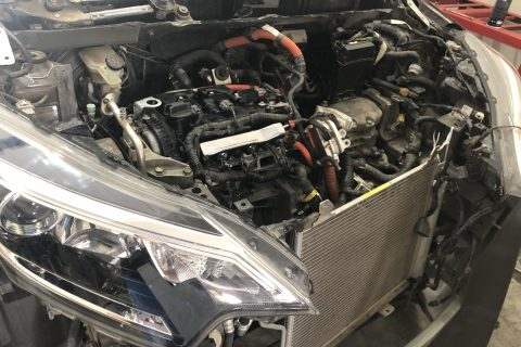 replacement of engine