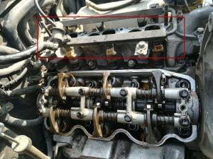 Mitsubishi Pajero 6G72 V6 Valve