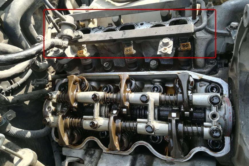 Mitsubishi Pajero 6G72 V6 Valve Seals Replacement