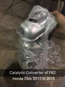 Catalytic Converter Honda Civic FB2