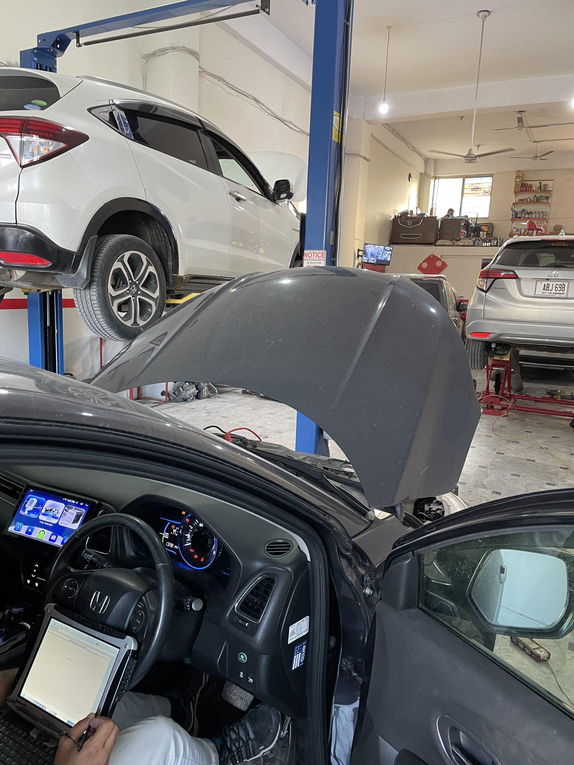 honda vezel car software update