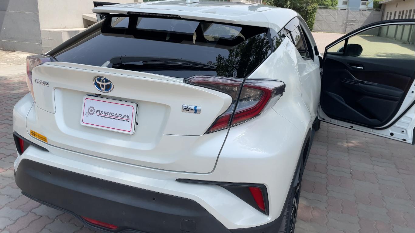 Toyota CHR Exterior