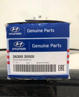Hyundai Tucson Oil Filter Genuine